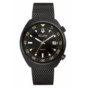新品 BULOVA ブローバ ACCUTRON アキュトロン II LOBSTER 98B247 黒 腕時計