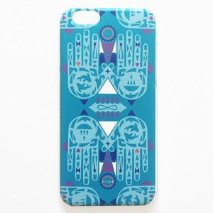 iphone6 / 6s用ケース HANDS【BLUE】