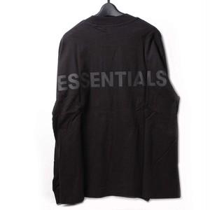 Fear Of God Essentials フィアオブゴッド エッセンシャルズ ロングTシャツ ブラック XS[全国送料無料] r015797