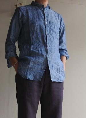ジャンゴアトゥール DjangoAtour クラシック フレンチワーク リネン シャツ Classic FrenchWork Linen shirt