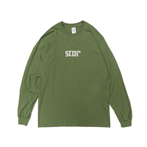 scar /////// SCARX L/S TEE (Military Green)