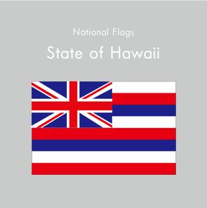 国旗ステッカー ハワイ州