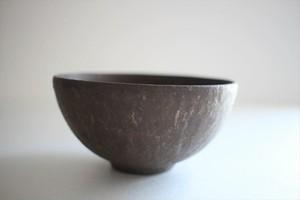小林耶摩人(恵山)|ボウルSS(4寸) 黒釉