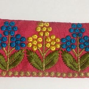 インドのリボン フューシャピンクのお花
