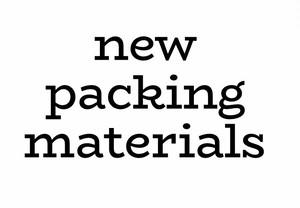 新品梱包材