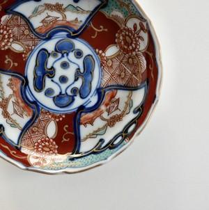 [NO.21217]伊万里 赤絵小皿 明治/ Imari Small Plate/ Meiji