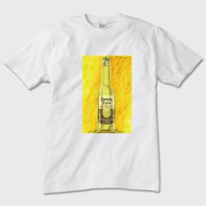 Corona Extra メンズTシャツ 白