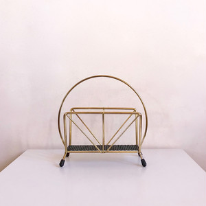 60's Dutch Design Vintage Metal  Objet/ Letter Holder オランダ