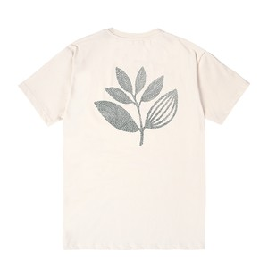 MAGENTA POINTS PLANT TEE NATURAL