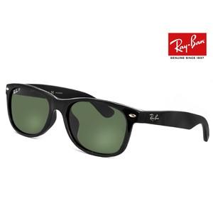 レイバン ウェイファーラー 偏光サングラス Ray-Ban rb2132f 90158 NEW WAYFARER 901/58 偏光 レンズ rb2132-f スーツ