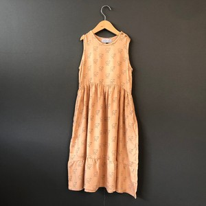 arkakama 20SS T.RAYON OLD TankDress I'm camel (D.CORAL×S.GRAY) M/Lサイズ AKD00052 ※メール便可