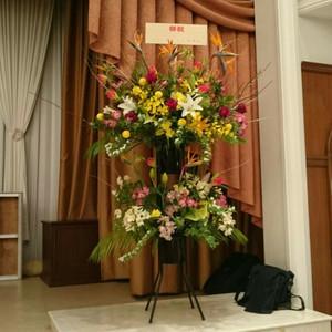 ステージ用スタンド花