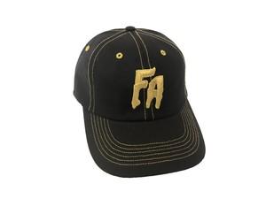 SEDUCTION OF THE WORLD STRAPBACK CAP(BLACK × GOLD) / FUCKING AWESOME
