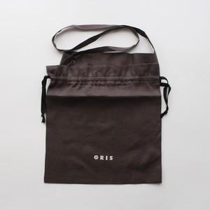 GRIS 21SS Drawing Bag (Ash) [GR21SS-AC008]※メール便OK