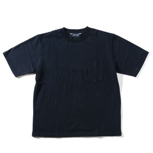LIVING CONCEPT BASIC POCKET T-SHIRT [ NAVY ]