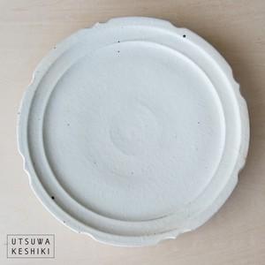 [古谷 浩一]彫刻皿 /8寸(鉄散)