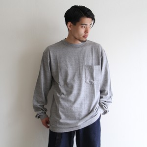 STAMMBAUM【 mens 】suvin crew neck pocket
