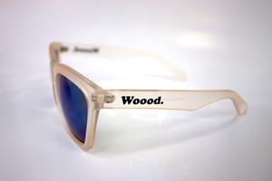 Woood.sunglass/matt clear