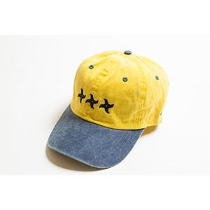 手裏剣CAP(イエロー/ブルー)