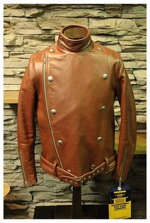 Toys McCoy - Leather Jacket - Eight Ball - Russet - 38