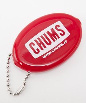 CHUMS(チャムス) CHUMS Logo Quikoin with Ball Chain(チャムスロゴクイコインウィズボールチェーン) Red (レッド) CH61-1005