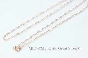 オプション用【14KGFピンクゴールド】ネックレス 50cm