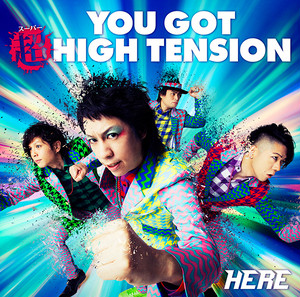 4th Album「YOU GOT 超 HIGH TENSION」通常盤 (CD)