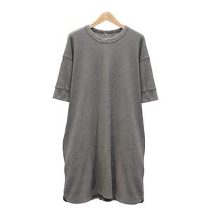 SOIL/ソイルTHERMAL CREW NECK HALF SL T-SHIRTワッフル半そでロングTシャツ【GNSL20052】