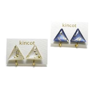 kincot 星空イヤリング(さんかく)