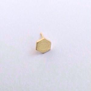 ヴィンテージスタインウェイピアノのパーツのヘキサゴンピアス(バラ売り) Vintage steinway and sons piano capstan pierce Hexagon (one piece)