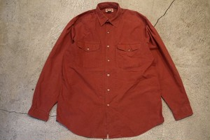 USED 90s Banana Republic L/S Cotton Shirt -Large S0594