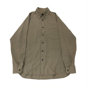 YOHJIYAMAMOTO POURHOMME DOUBLE LAPEL DESIGN SHIRT