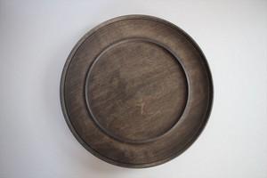 北山栄太|リムプレート9寸(ザクロ) 茶