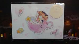 yotsuba【ステッカーセット】candy cat