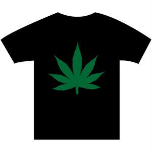 B4° ビヨンド Tシャツ TEE 半袖 半袖Tシャツ マリファナ ガンジャ ヘンプ 草 ハッパ 黒x緑 ヘビーウェイト フリースタイル ラップ ラッパー MCバトル 42 S M L XL XXL 2XL XXXL 3XL