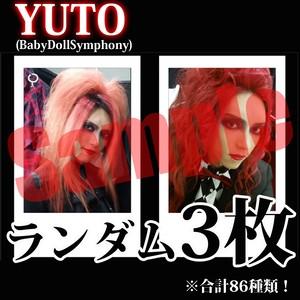 【チェキ・ランダム3枚】YUTO(BabyDollSymphony)