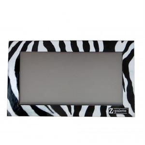 Zパレット メイクアップパレット(カラー:ゼブラ柄/サイズ:L) by Z palette ZP-LZ46485