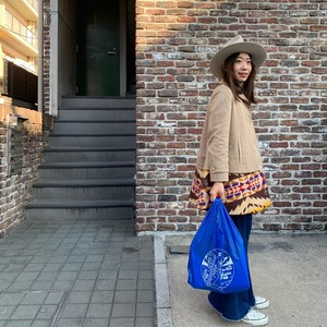 Reusable shopping bag【Blue】