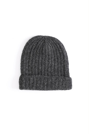 Knit Hat / ISABEL BENENATO / GRAPHITE