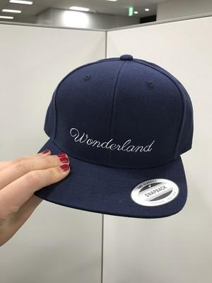 Wonderland キャップ ( 紺 )
