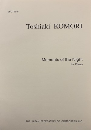 K45i91 夜の瞬間(ピアノ/小森俊明/楽譜)