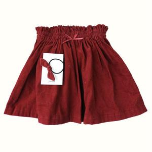 handmade series 100size SKIRT(red)