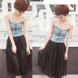 【即納】 SNS trend!! bijou付maxi Dress