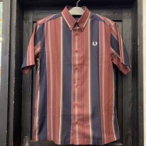 FRED PERRY : STRIPE S/S SHIRT / Mサイズ