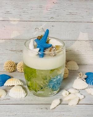 アロマワックス カップ  シトラスの香り 貝がら