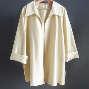 Oversized silk jacket
