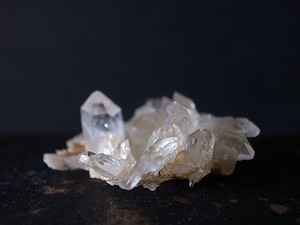 パールヴァティ産 ヒマラヤ水晶 クラスター QUA1803-018