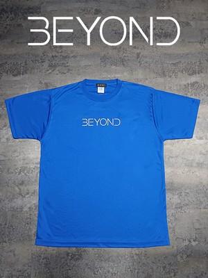 BEYOND ドライTシャツ ロイヤルブルー