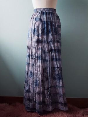 触手 long skirt「カツオノエボシ」