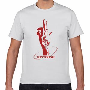 TONYBAND Tシャツ(白) FINGER